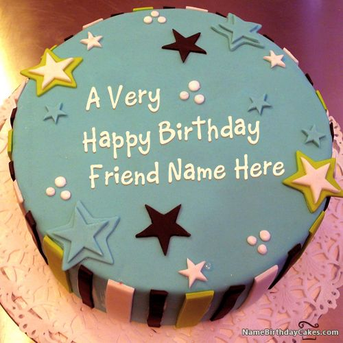 Pics Of Birthday Cakes For A Friend : 17 Best images about Name Birthday Cakes for Friends on ...