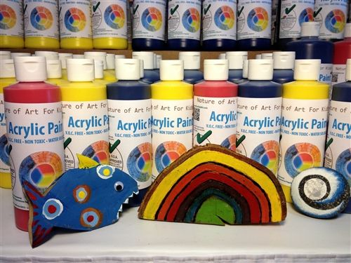 Safe non-toxic paint for kids