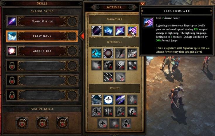 Diablo 3 skills