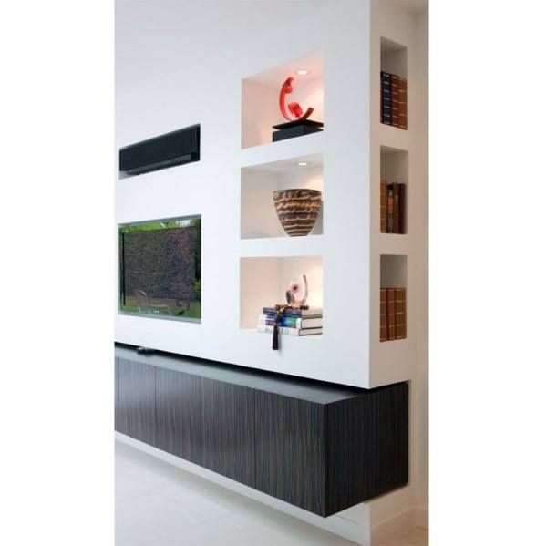 Top 40 Best Recessed Wall Niche Ideas Interior Nook Designs Wall Niche Recessed Shelves Living Room Contemporary Living Room Design