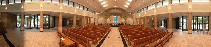 St. Jude The Apostle Cathedral, St. Petersburg, Florida.