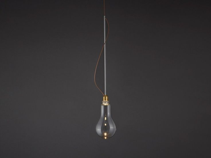 Suspension en verre soufflé LEDed B by BENWIRTH LICHT  design Ben ...