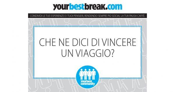 Rendi utile il tuo selfie: solo su #YourBestBreak il photo-contest che premia la pausa più pazza!    #ad #ad