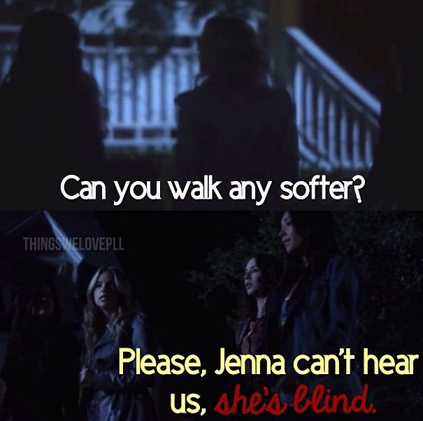 Oh goodness  Favorite Pretty Little Liars quote ever!