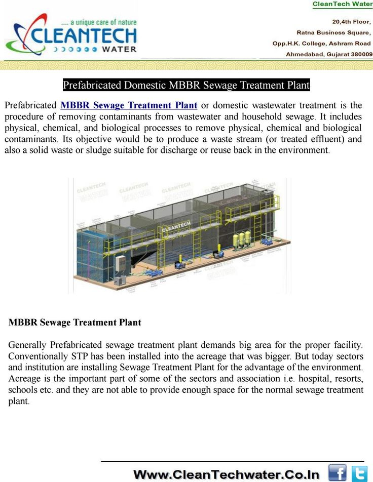 Prefabricated MBBR Sewage Treatment Plant or domestic wastewater treatment is the procedure of removing contaminants from wastewater and household sewage.