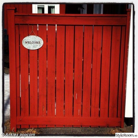staket falu rödfärg - Sök på Google