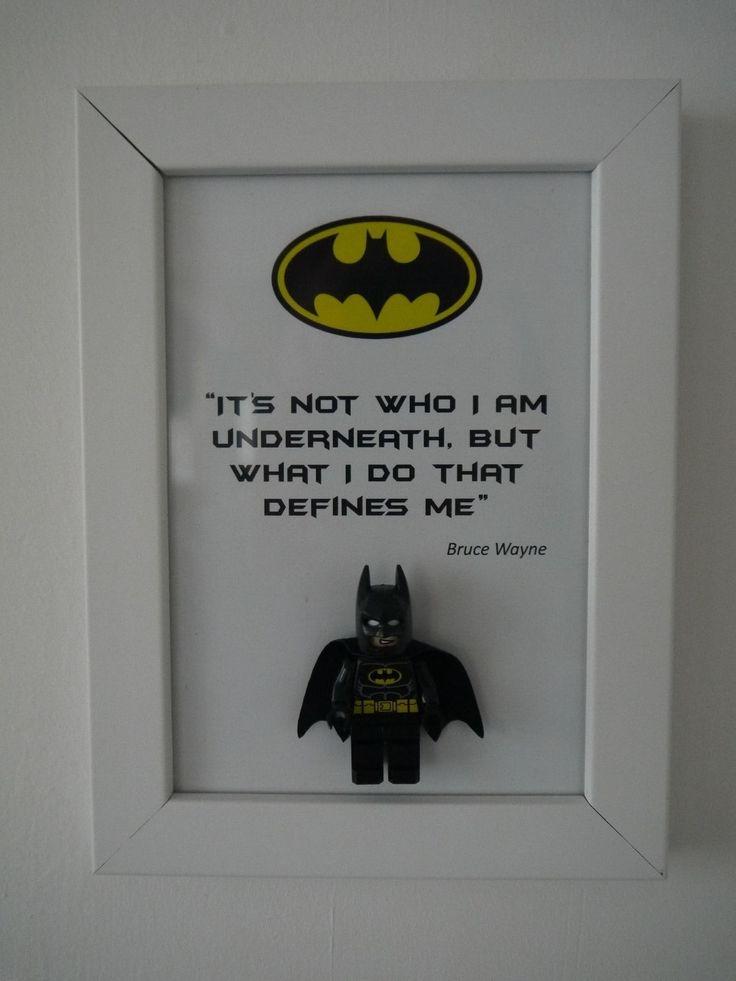 Cadre déco original Batman