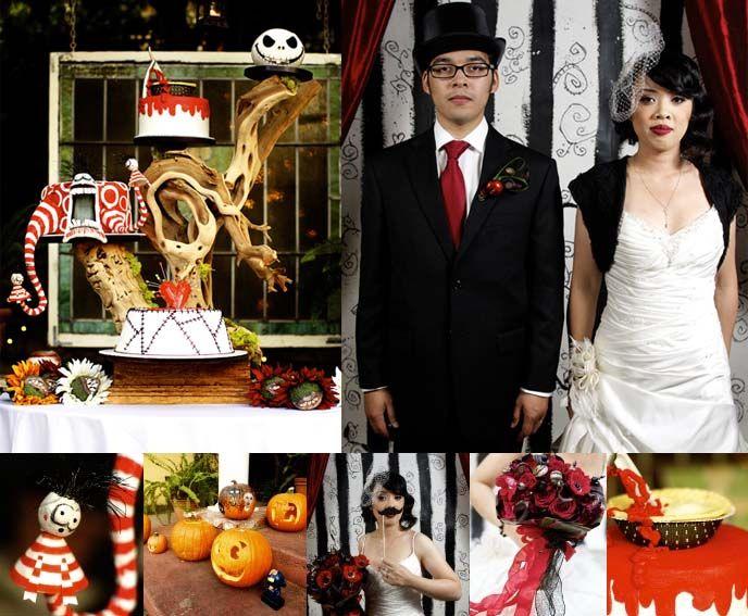 Dream wedding and Halloween weddings