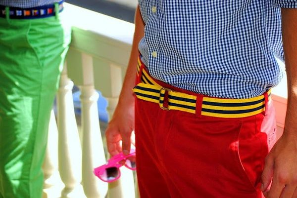 """the adventures of tartanscot™: """"Sunday Runway, an Etude in Stripes . . . """""""