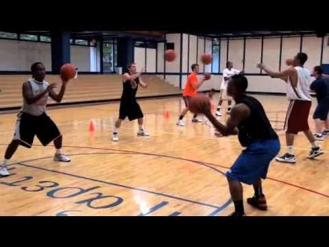 Pure Sweat Basketball Team Workout for youth- When you sweat check out The Chilly Pad®