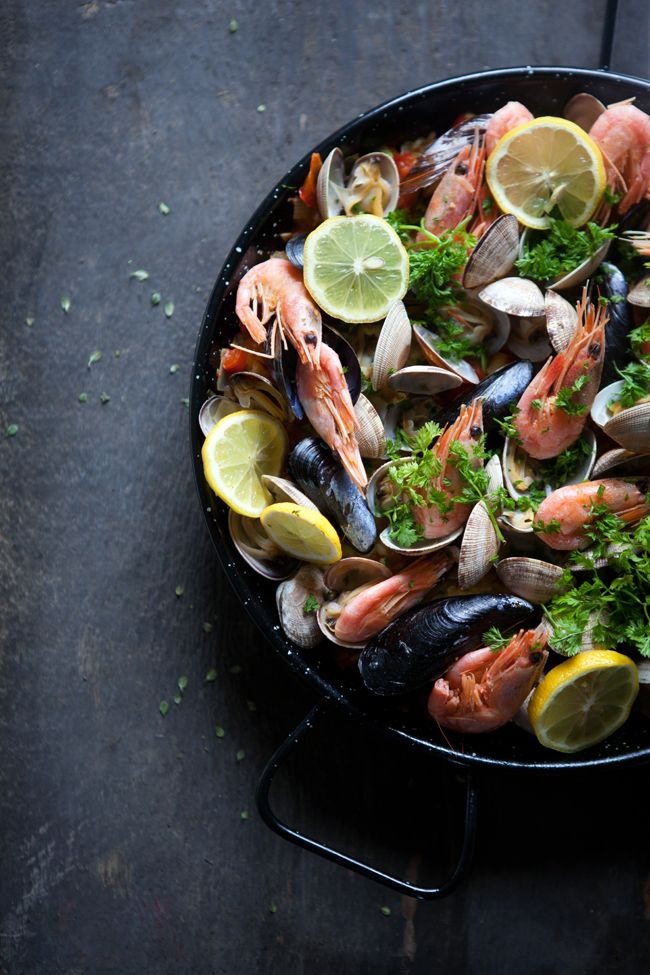 Seafood paella | Cannelle et Vanille