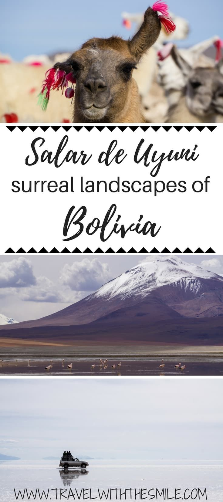 Salt Flats in Bolivia - a complete guide to Salar de Uyuni tour   What to do in Bolivia   Things to do in Bolivia   Salar de Uyuni   Salt flat Bolivia   Biggest salt flat in the world   Laguna Colorada   #bolivia #southamerica #saltflats #tbin