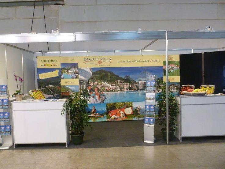 Der DVH-Stand auf der Tourismusmesse Vakanz in Luxemburg