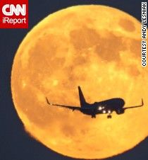Best way to see supermoon? On a Chinese moon-viewing flight