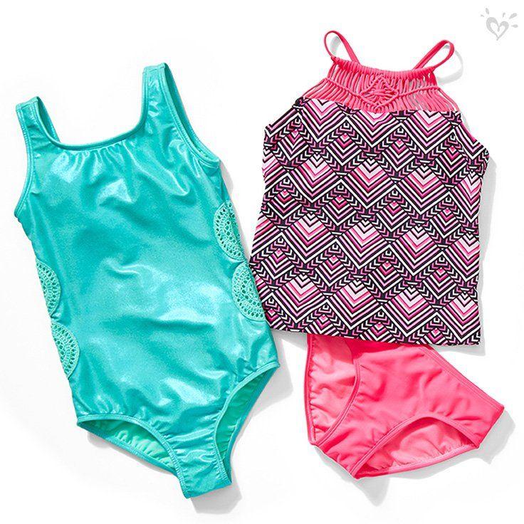 Pin On Justice Swimwear