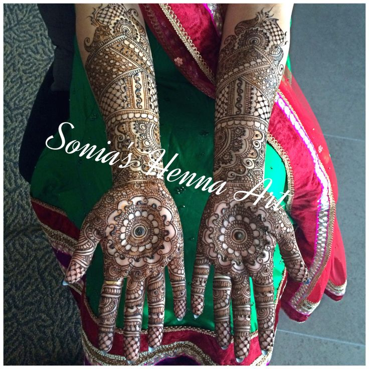 Full traditional Bridal henna design  By Sonia's Henna Art   Simple bridal henna design  Traditional design of Mehndi for desi brides  Dulhan design  Dulhan Mehndi   Toronto based Artist Henna Artist in Toronto  Www.soniashenna.Com