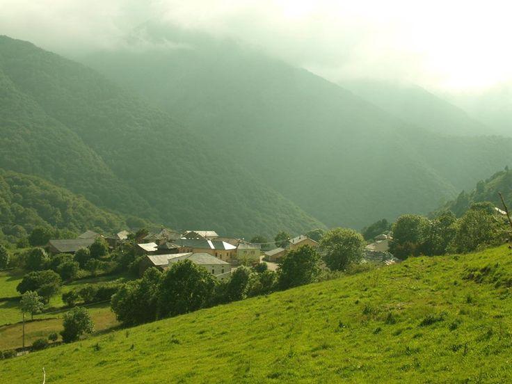 Aldea asturiana.