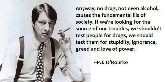 Image result for p.j. o'rourke why i'm voting for hillary