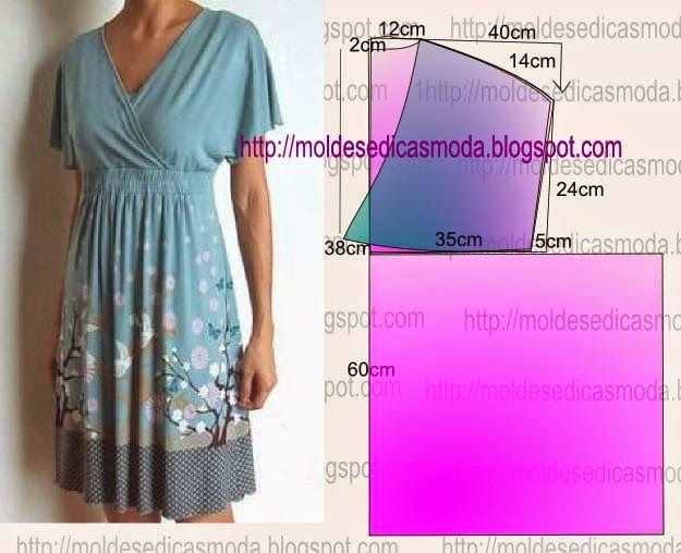 DRESS EASY TO DO - 29 ~ Molds Fashion for Measure