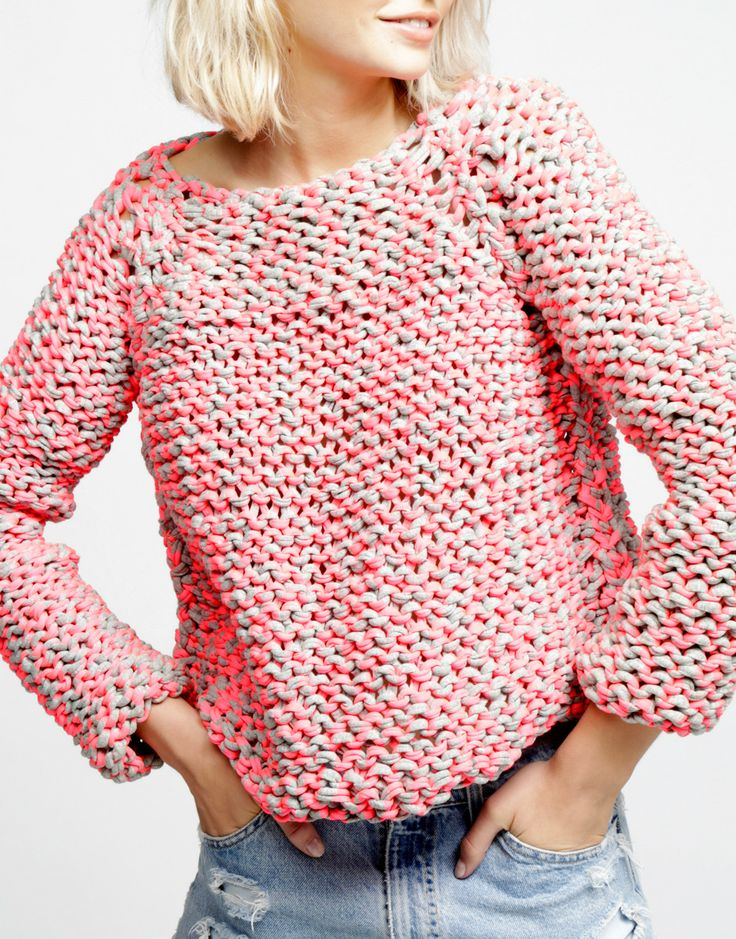 Presenting Cocoon Sweater