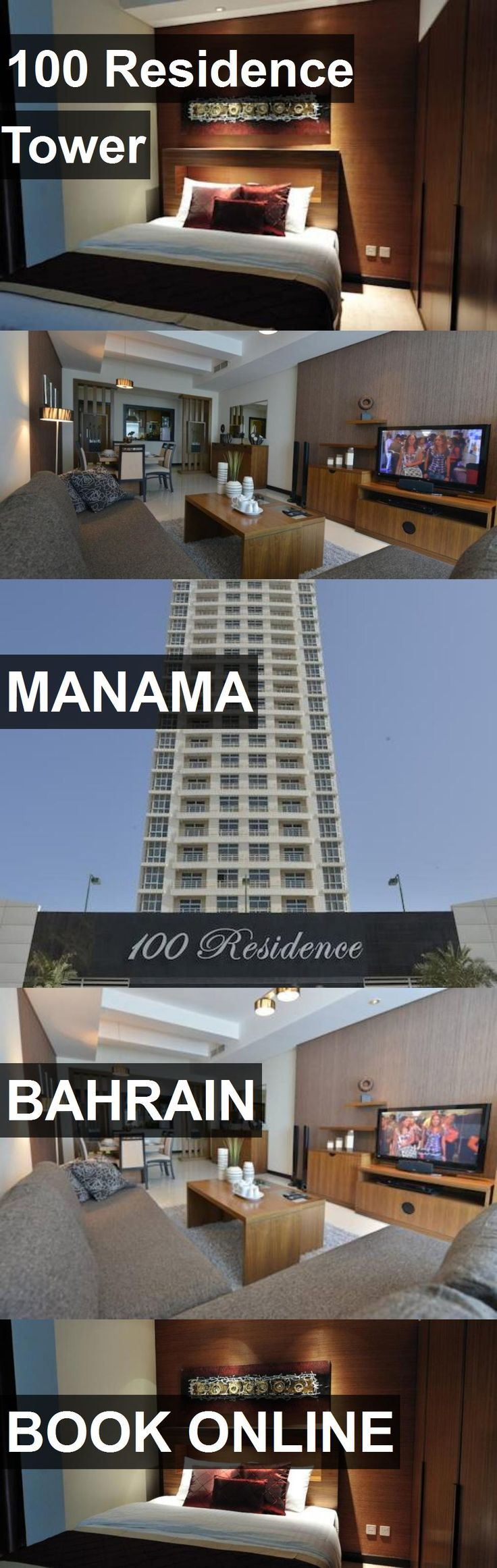 Hotel 100 Residence Tower in Manama, Bahrain. For more information, photos, reviews and best prices please follow the link. #Bahrain #Manama #100ResidenceTower #hotel #travel #vacation