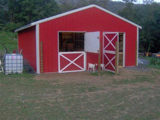 Scle Goat Barn Ideas