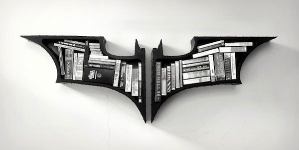 The Dark Knight Bookshelf | Extrove - Cool Stuff, Gifts and Gadgets for Men