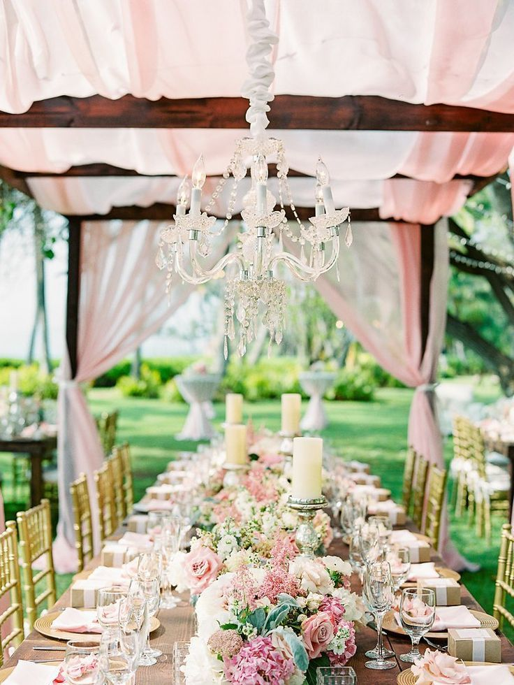 Timeless Wedding Trends for Every Wedding: elegant outdoor wedding reception tablescape