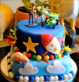 Bryson wants this for his birthday: Toys Stories Cakes, Cakes Cartoon, Happy Birthday, Toy Story Cakes, Awesome Cakes, Kids Cakes, Sweet Gabby, Cakes Design