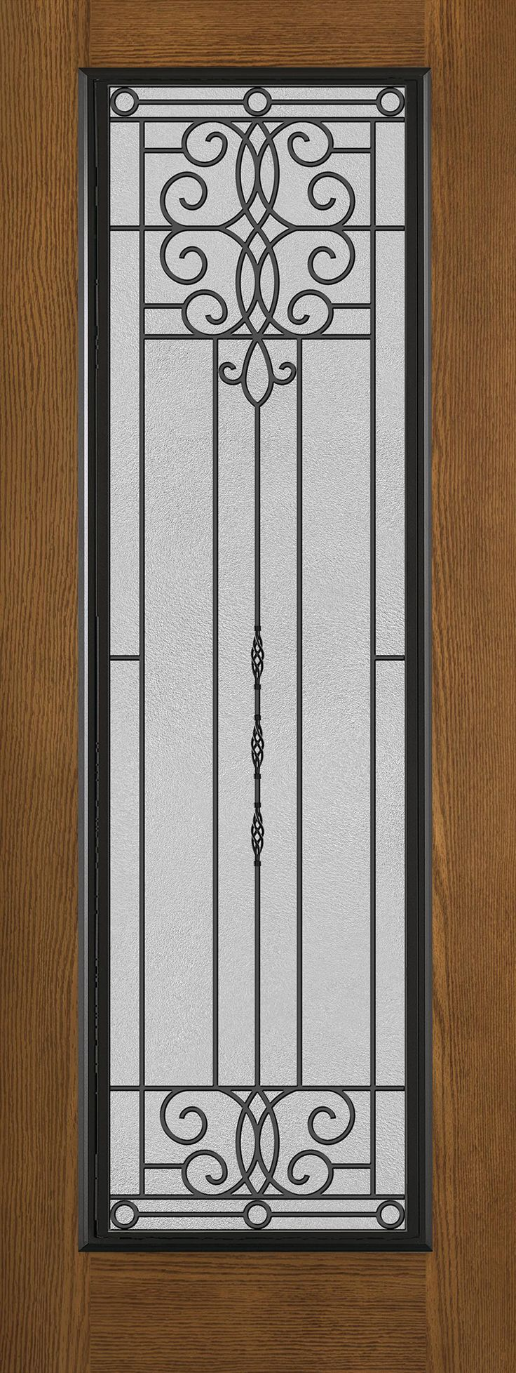 7 Best Iron Grill Mahogany Wood Doors Images On Pinterest