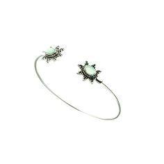 Bracelet en métal et strass. Un bracelet créateur tendance 2016 . Bracelet…