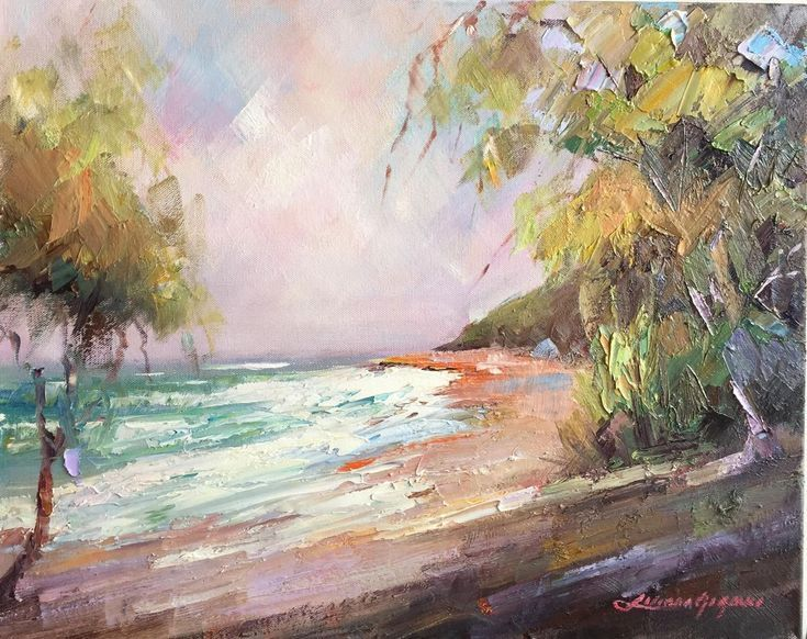 Buy Hidden beach, Oil painting by Liliana Gigovic on Artfinder. Discover thousands of other original paintings, prints, sculptures and photography from independent artists.