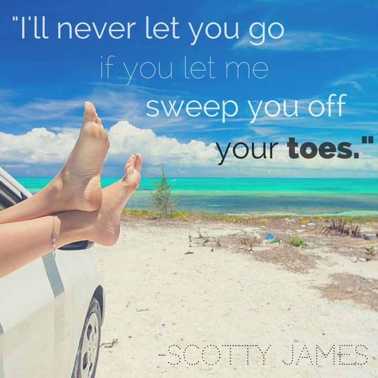 "Lyrics from song ""Toes"" by Scotty James"