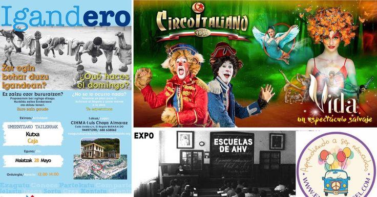 Agenda | Último día del Circo Italiano + taller infantil gratis en El Regato + familia nómada