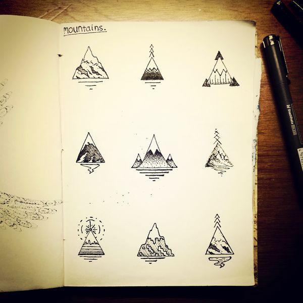 Mountains by James-McKenzie.deviantart.com on @DeviantArt