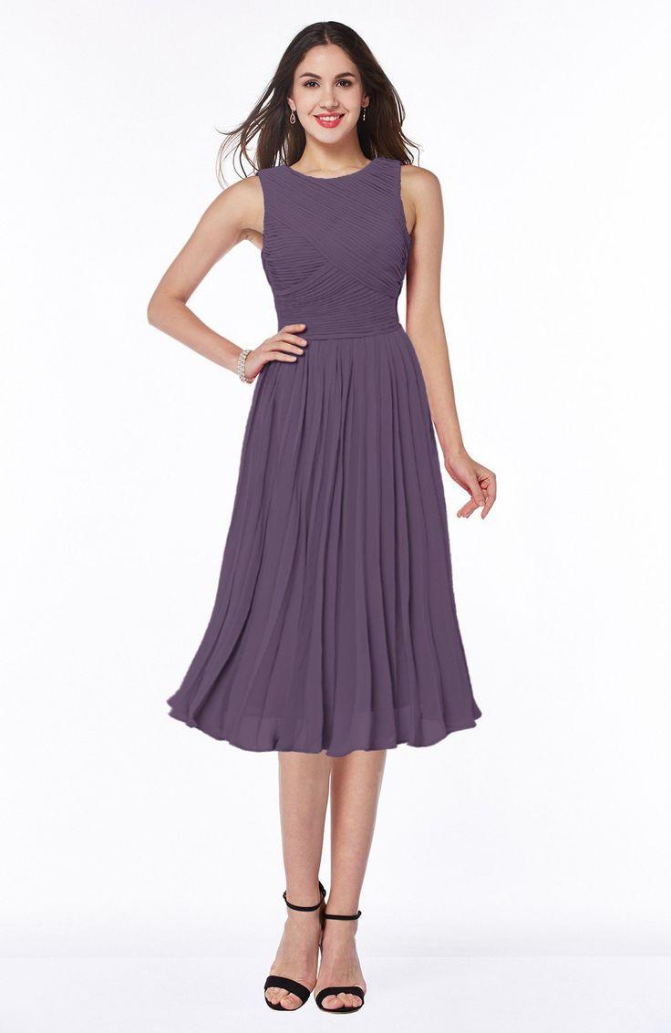 The 25 best eggplant bridesmaid dresses ideas on pinterest eggplant bridesmaid dress modern a line v neck sleeveless tea length pleated plus ombrellifo Gallery
