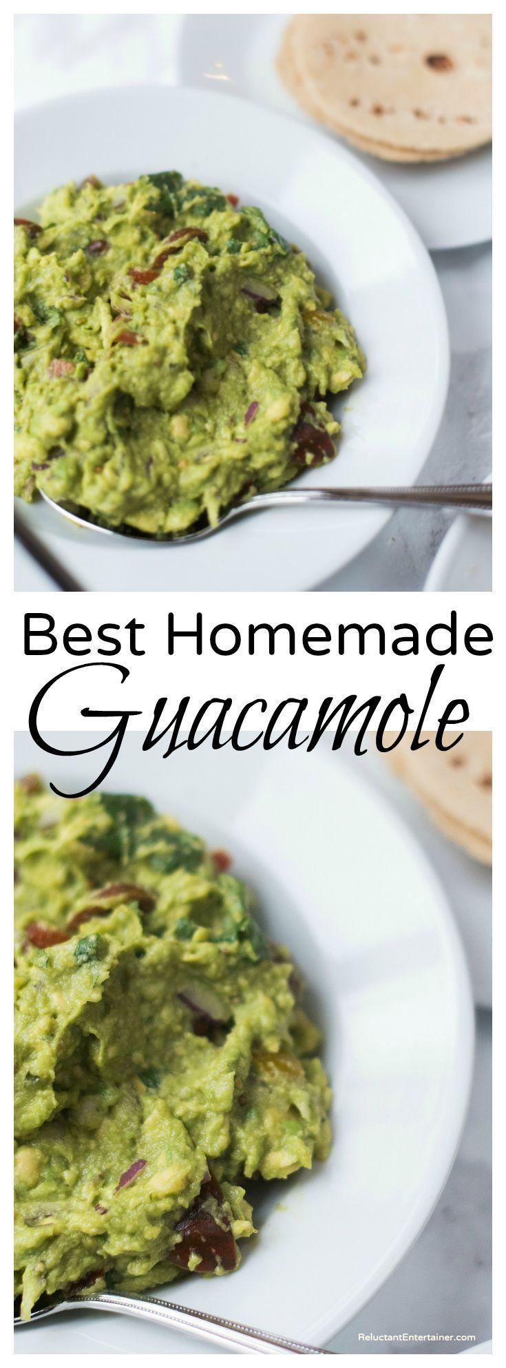 Guacamole Recipe Mexican Food Made Easy