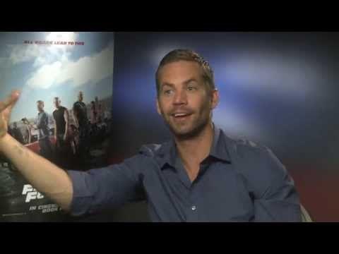 Fast & Furious 6 -- Paul Walker Interview - YouTube