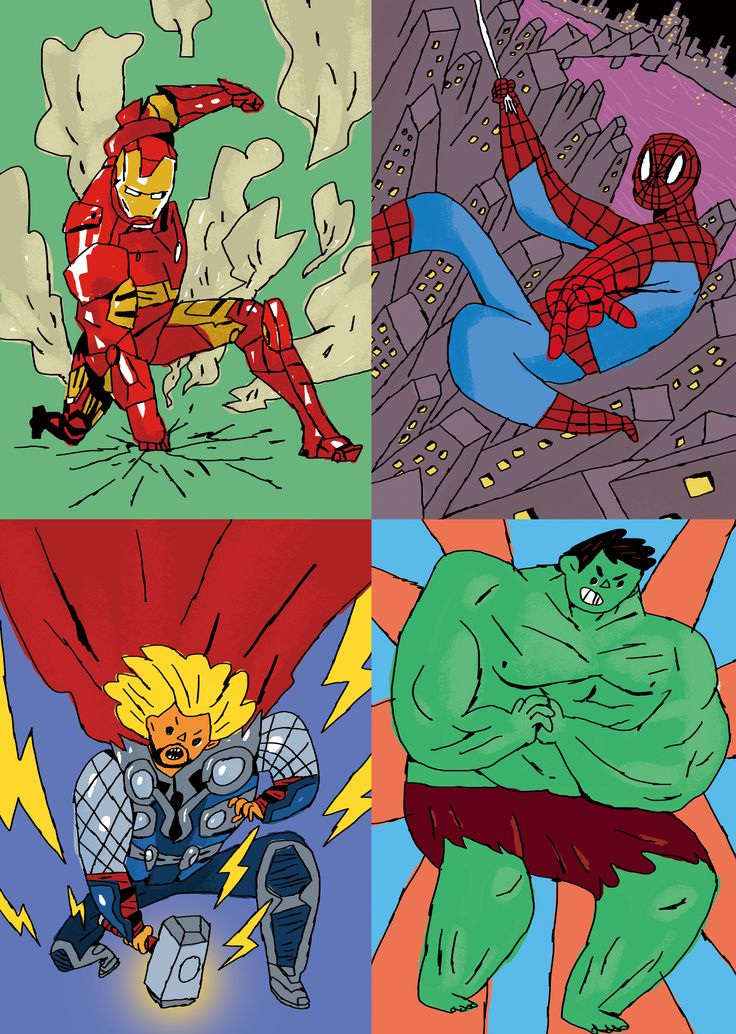 Avengers - Hororo world ver.