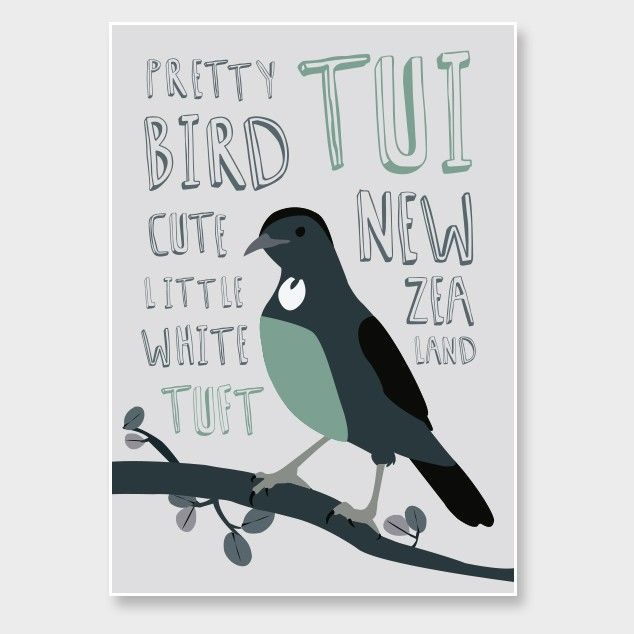 Tui Art Print by Alice Berry