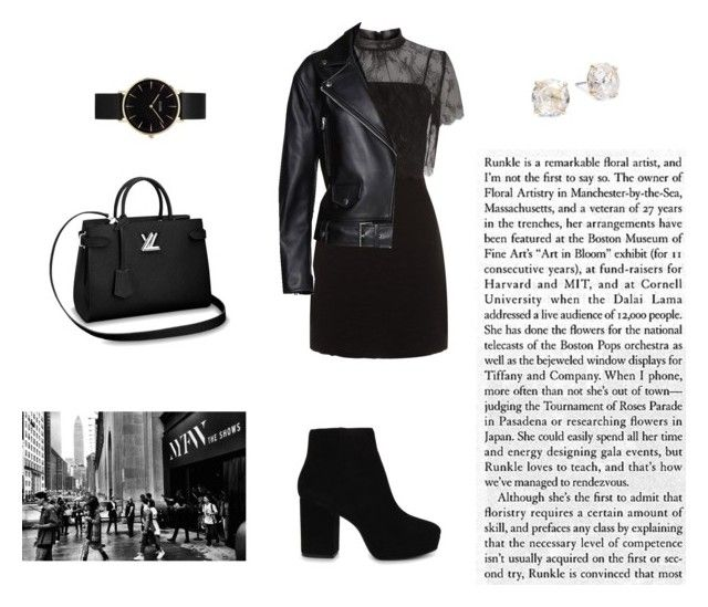 """""""Untitled #25"""" by jennybuutrago on Polyvore featuring Sandro, Acne Studios, ALDO, CLUSE and Kate Spade"""