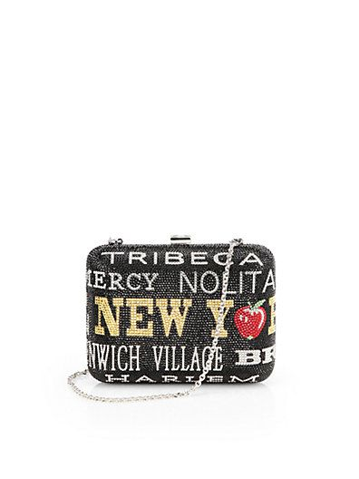 Judith Leiber - New York New York Convertible Clutch