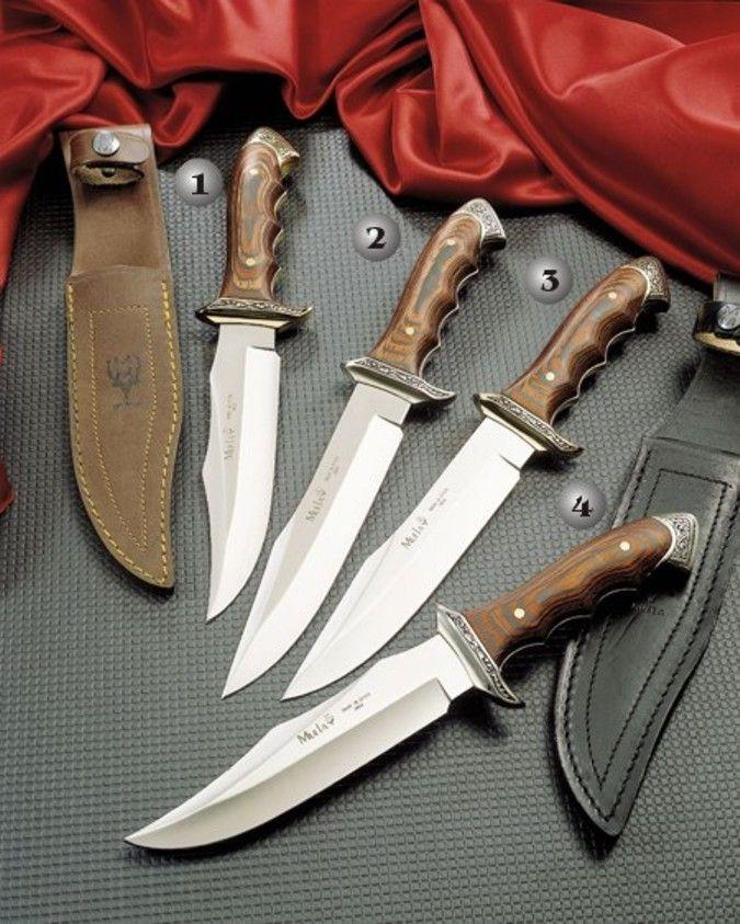 Muela Knives, Venecia hunting knives 21700-21833-21800-21733.