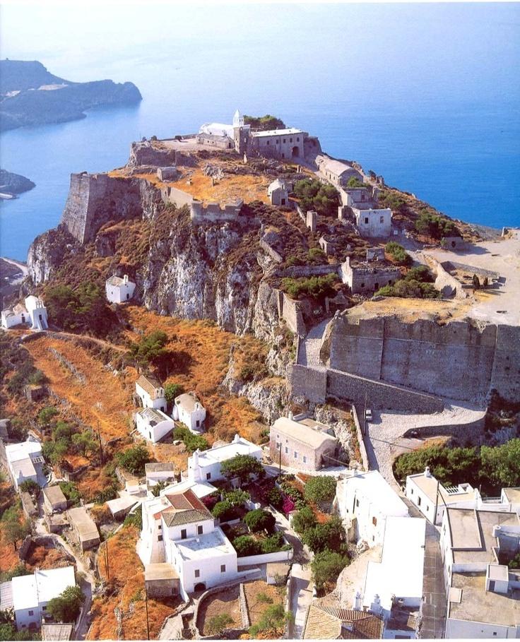 Castle in Chora ,Kythira island