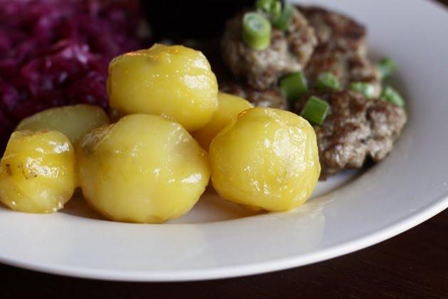 Carmelized Potatoes