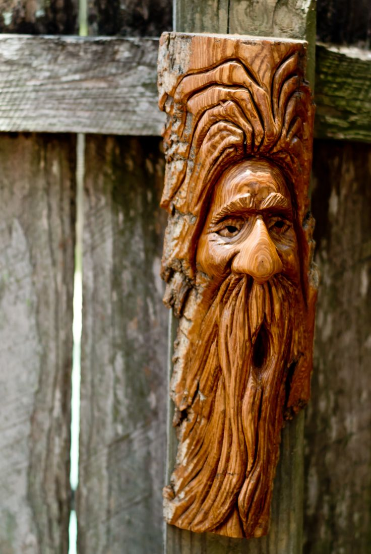 136 best wood spirits images on pinterest tree carving for Best wood for chip carving