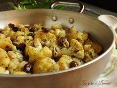 cavolfiore stufato con olive