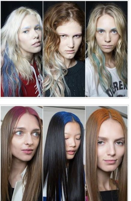 Spring/Summer 2015 Hairstyle Trend - False looking regrowth..