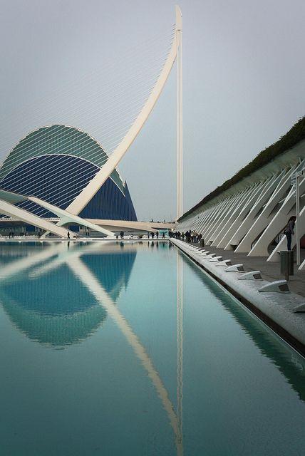 Parque oceanográfico + l'umbracle    Ciudad de Las Artes Y Las Ciencias - Valencia - España