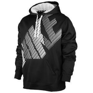 Nike KO Block Hoodie - Men's - Black/White